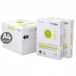 Hartie reciclata, A4, 80 g/mp, Recyconomic Classic White, 5 top/cutie
