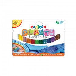 Plastelina, 12 culori/cutie, CARIOCA Plasty