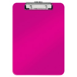 Clipboard simplu LEITZ Wow - roz metalizat