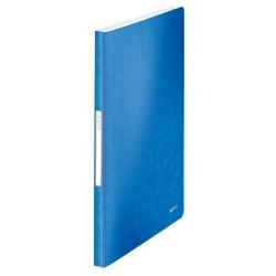 Mapa de prezentare Leitz WOW, coperta moale, PP, A4, 40 de folii, albastru
