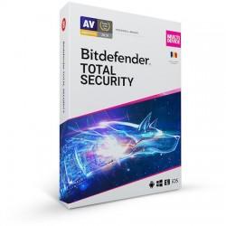 Bitdefender Total Security 2019, 1 an, 10 utilizatori