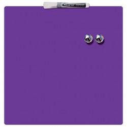 Tabla NOBO magnetica patrata, 360x360mm, mov