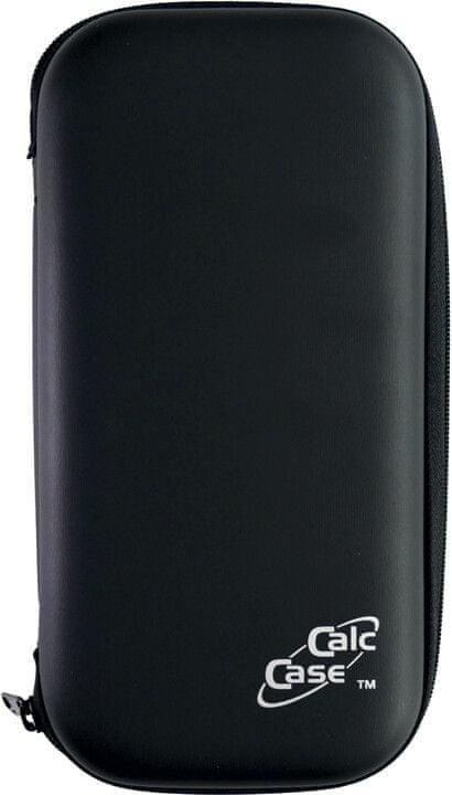 Husa calculator stiintific, BESTLIFE CC26L, 195 x 100 x 35mm, hard case PU/catifea neagra, cu fermoar