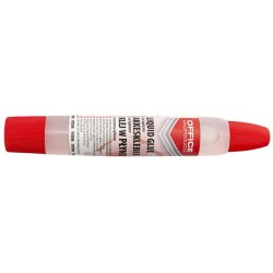 Lipici lichid 43ml, aplicator cu buretel, Office Products - 2 capete de aplicare
