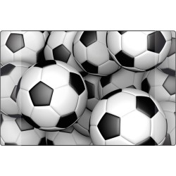 Mapa birou 38 x 58 cm, KANGARO - imagine mingi de fotbal