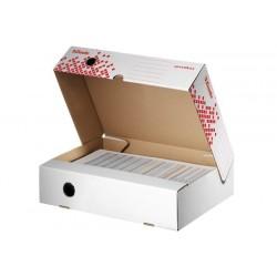 Cutie Esselte Speedbox pentru arhivarea documentelor, 80 mm, orizontala