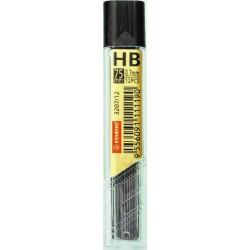 Mine pentru creion mecanic Stabilo, 0.7 mm 2B, 12 bucati/set
