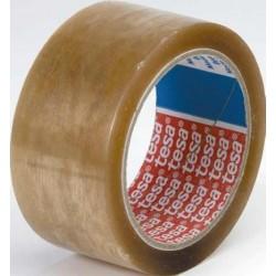 Banda adeziva Tesa, 19 mm x 66 m, transparenta