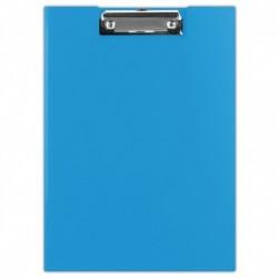 Clipboard, albastru, dublu, A4, carton plastifiat